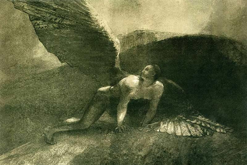 Odilon Redon, Angelo caduto