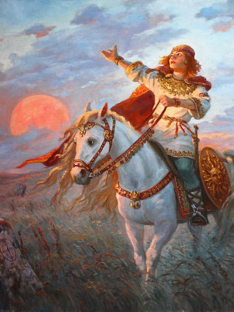 Andrej Shishkin, Khors, Il dio dell'aurora
